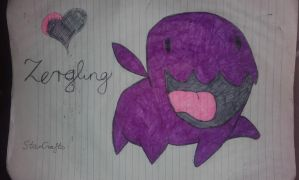 My little zergling by Lunajanka