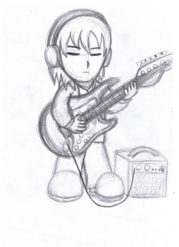 cartoon guitar guy by Nheckscar