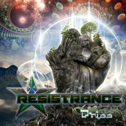 RESISTRANCE cover for Hadra Records by psikodelicious