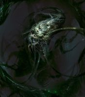 Cosmic horror by Manzanedo