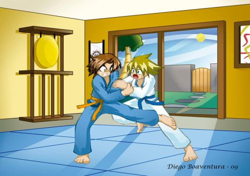 Judo by DiegoHunter
