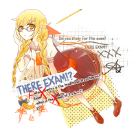 There Exam [Oshino Shinobu] by Kyantsu