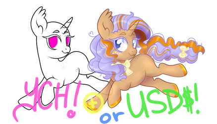 YCH OPEN POINT/USD - Run Hop! by Arxielle