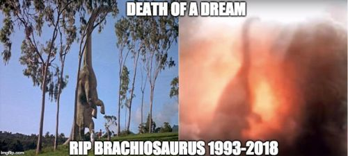 JWFK Brachiosaurus Death by Strikerprime