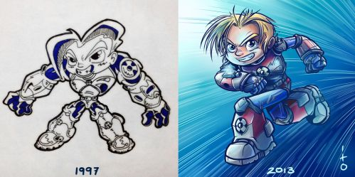 past vs present by petipoa