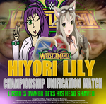 WM34 Women's Championship Unification MATCHCARD by tailsverdolaga8994