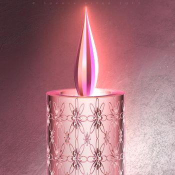 Candle by Fractal-Kiss