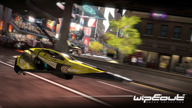 Wipeout Omega Collection Wallpaper 01 by JJteam