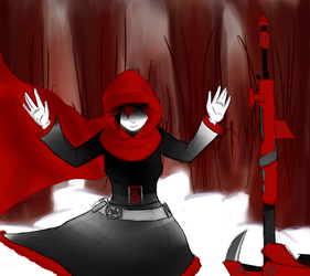 Quick Art: Ruby Rose by Chibenobi