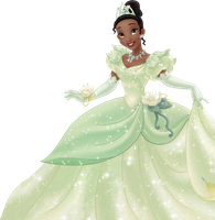Princess Tiana PNG by biljanatodorovic