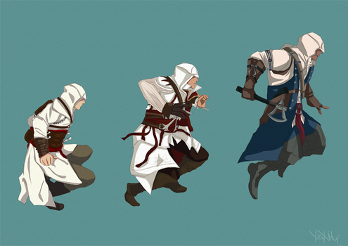 Assassin's Creed evolution by Heurim