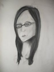 charcoal drawing by Sunsetsurfer21