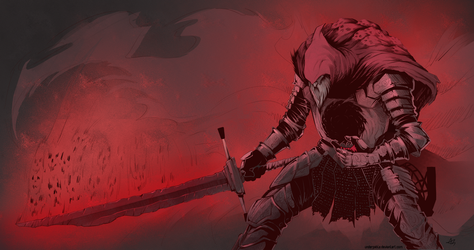 Slave-Knight Gael by Underpable
