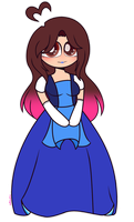 ~Me As Sapphire by Nini-the-inkling