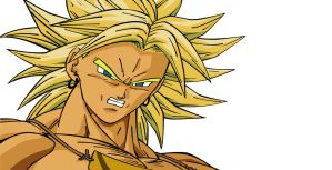 Broly by hellmaster9