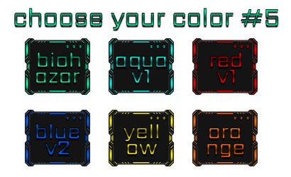 Choose Your Color #5 by Agelyk