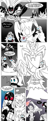 Bits and bytes end2.p4 Monsters in our hearts by Sakuyamon