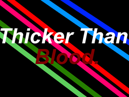 Thicker Than Blood Title by PPGcomic