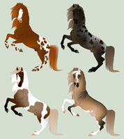 Realistic Equines (Auction 02) CLOSED by Bellasuem