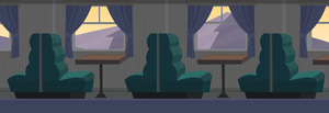Background Total drama Train #2 by MigueLLima1999