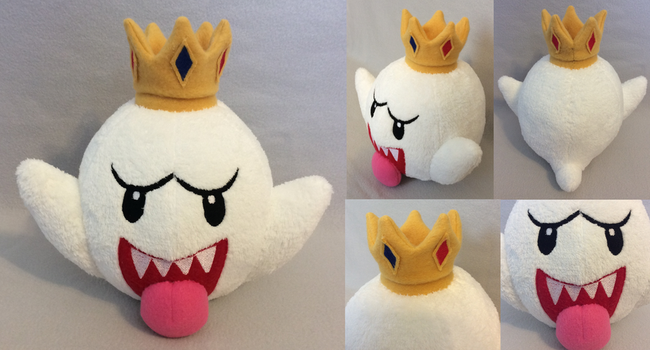 :Mario: King Boo Plush by MiharutheKunoichi