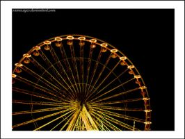 The wheel at night by Sama-Eyes