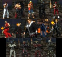DOA5LR Unreleased Mod Pack by monkeygigabuster