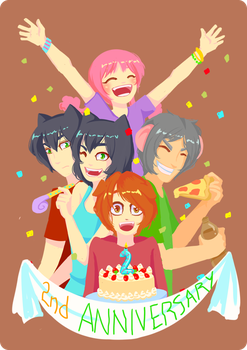 2nd Anniversary by misscrulicious
