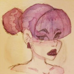 Style Experimentation/ Watercolour Practice by Zephyr0Sketches