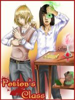 at Potion's Class by Ainon