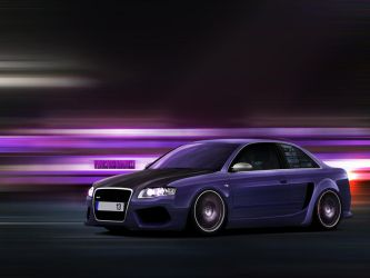 Audi Rs4 by vicadesigner