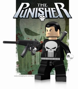 Lego Punisher by mikenap22