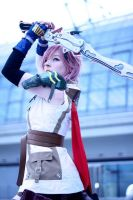Lightning Cosplay - Strength is a gift by CiriCosplay