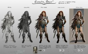 Tutorial Character Design by Panaiotis