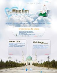 My first Web design by MohamedGfx
