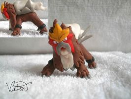 244 Entei by VictorCustomizer