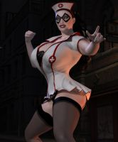 Night Nurse Stance by willdial