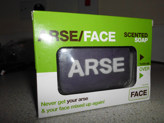 Arse and Face Soap (01) by Satans-Comrade