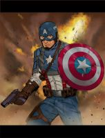 The First Avenger by Mista-M