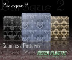 Baroque seamless patterns by PeterPlastic