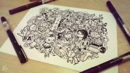 Doodle: Architectural by LeiMelendres