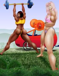 lady iron pumpers by MuscleWomen-Planet