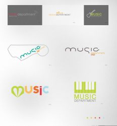 Music dep Logotypes by CaPtIne