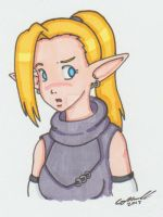 Ino by cqmorrell