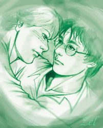 Another fanart on Harry Potter by LauraZel