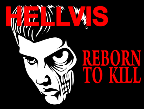 Psychobilly Elvis by EnemaCocktail