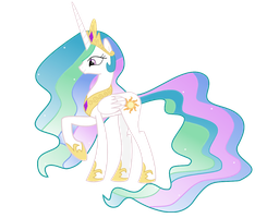Princess Celestia by RockinT765