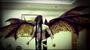 Illidan Cosplay by vega147