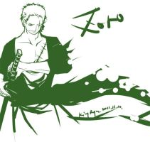 happy birthday zoro by kingryuuzaki