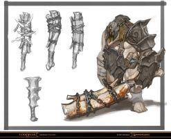 God of War - Armored Cyclops by Raggedy-Annedroid